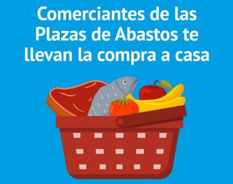 Los mercados de Roquetas llevan la compra a casa por el #COVID19