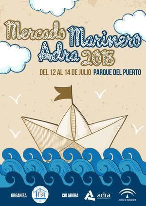 El Mercado Marinero de Adra se instalará del 12 al 14 en el Parque del Puerto