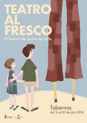 """El """"teatro vuelve a la calle"""" en Tabernas con la III edición del Festival 'Teatro al Fresco'"""