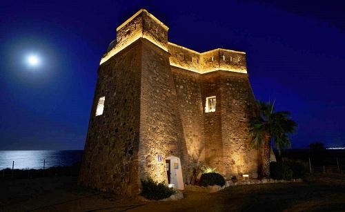 La iluminación del Castillo de Villaricos es finalista de unos premios internacionales