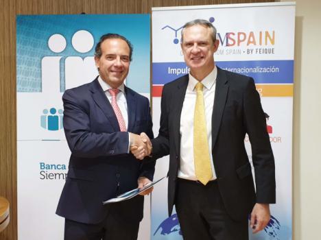 Cajamar renueva su acuerdo de colaboración con Chemicals from Spain