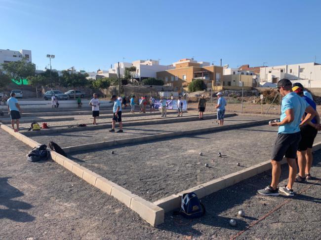 El Circuito de Petanca de Diputación continúa en Antas el 25 de agosto