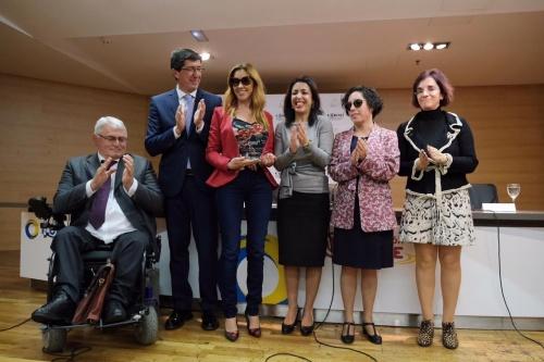 Mercedes López (Cs) recibe el premio 'Cermi.es'