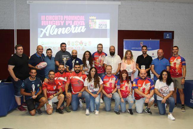 El Circuito de Rugby Playa de Diputación corona a sus campeones provinciales