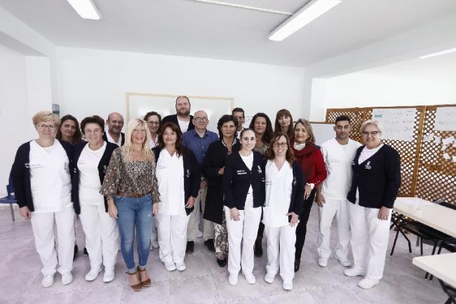 Diputación clausura el Taller de Empleo de la Residencia Asistida