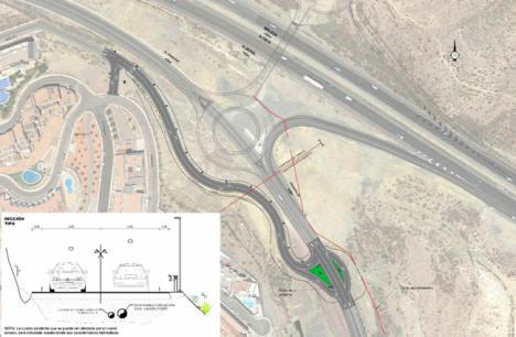 Salen a licitación dos nuevas infraestructuras de acceso a Las Colinas