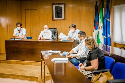 El alcalde de Roquetas preside el primer Consejo Escolar tras el #COVID19