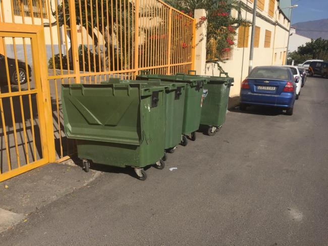 El Consorcio de Residuos Sector II renueva los contenedores de Huércal