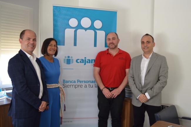 Cajamar y Almería Centro renuevan su compromiso con el comercio del centro de la ciudad