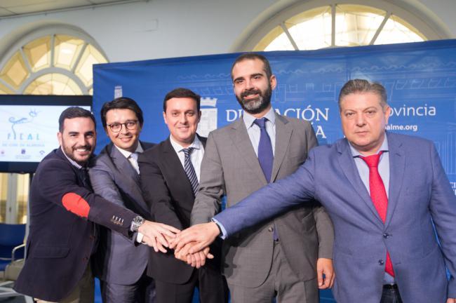 Diputación y Ayuntamiento de Almería renuevan su alianza para impulsar FICAL