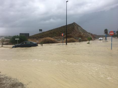 Vera pone en marcha el proyecto de pluviales contra las inundaciones