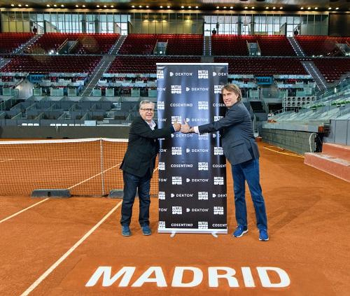 Cosentino vuelve a estar presente en el Mutua Madrid Open