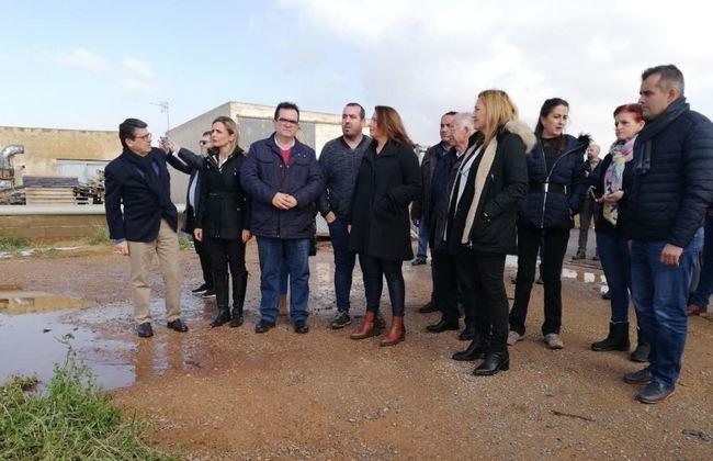 La Junta activa la comisión de desastres ante las más de 1.000 hectáreas de invernadero dañadas en Níjar
