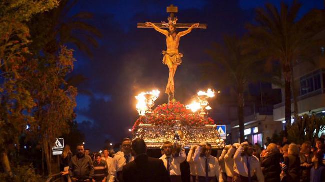 Vícar Disfrutó De Sus Procesiones De Semana Santa