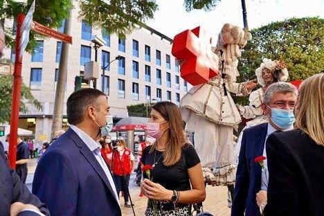 Diputación celebra el 'Día de la Banderita' de Cruz Roja