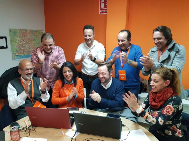 Ciudadanos duplica su resultado en Almería pero Vox le gana en votos