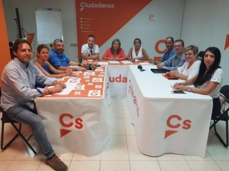 Cs Almería perfila su estrategia para las próximas citas electorales