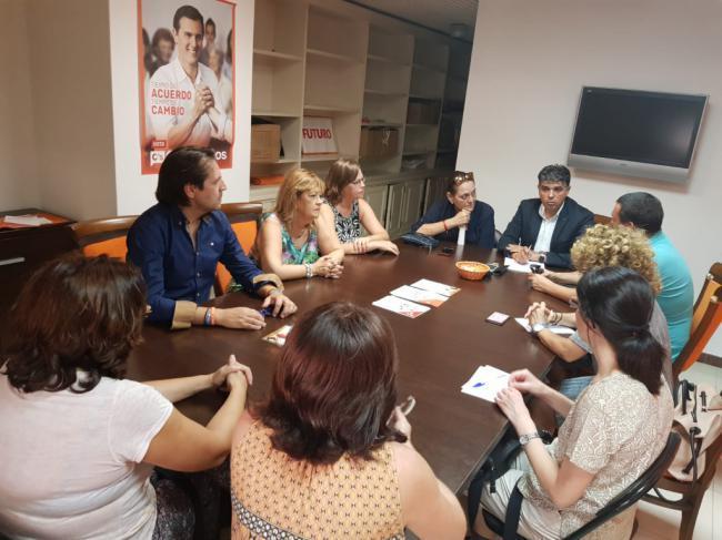 """Cazorla: """"Cs exige al alcalde mantener a los trabajadores sociales para el nuevo programa"""""""