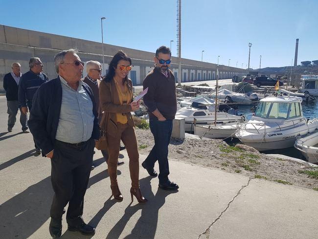 """Marta Bosquet: """"Es una indecencia la actitud de la Junta con el puerto de Carboneras"""""""
