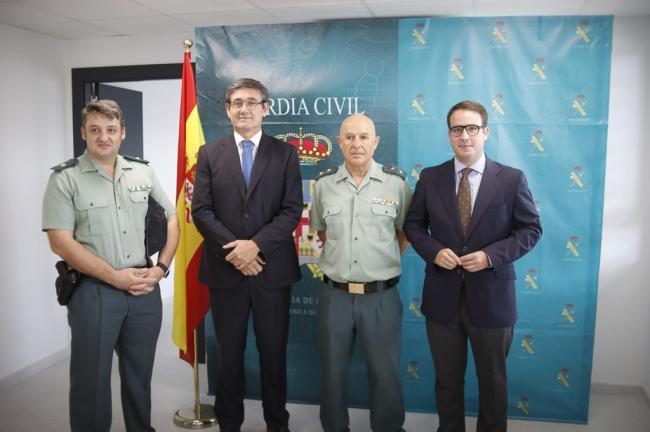 Adra estrena un renovado cuartel gracias al esfuerzo conjunto de Diputación y Guardia Civil