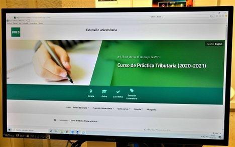 UNED Almería y la Agencia Tributaria organizan un curso virtual de práctica fiscal