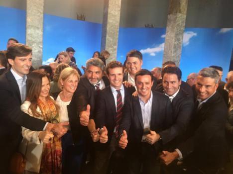 El PP defiende que García es el candidato al Congreso que mejor conoce Almería