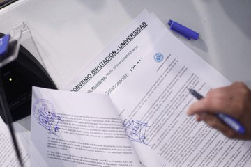 Diputación aporta 120.000 euros a la UAL para actividades académicas