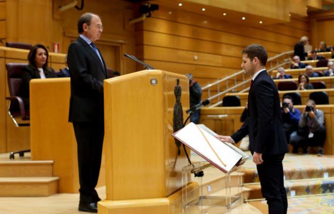 El nuevo senador del PP por Almería es el más joven de la Cámara Alta