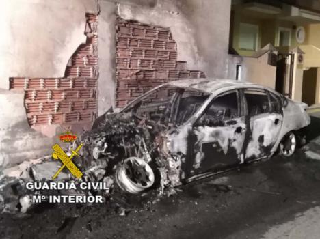 Detenido por daños a la Iglesia de Purchena y varios coches