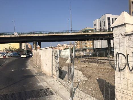 La construcción del nuevo vallado de Carretera Sierra Alhamilla entra en su recta final