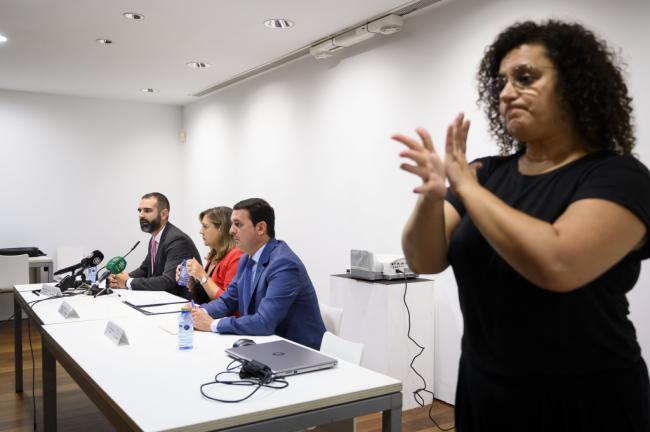 Ayuntamiento y Diputación respaldan las Jornadas de Accesibilidad Universal de ONCE