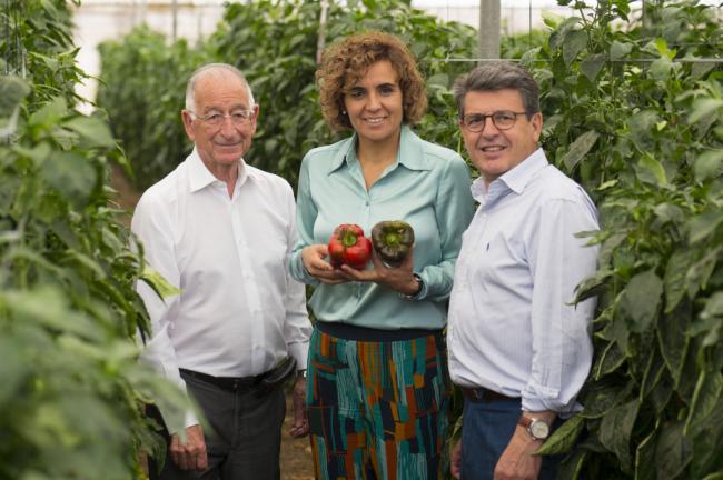 Dolors Monserrat dice que los productos de Almería 'hacen marca España'