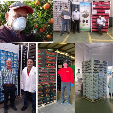 Agricultores de Almería donan hortalizas al personal de IFEMA por #COVID19