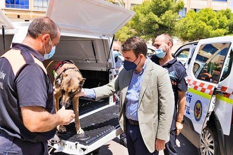 3 vehículos más para el parque móvil de Protección Civil de Diputación