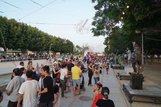 'El Escultor Encantado' gana el Concurso de Estatuas Humanas de San Isidro