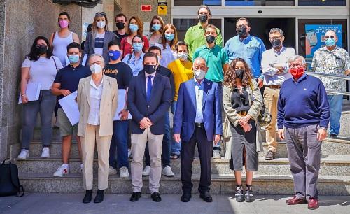 Una veintena de arquitectos visita Roquetas de Mar para participar en el concurso internacional Europan16
