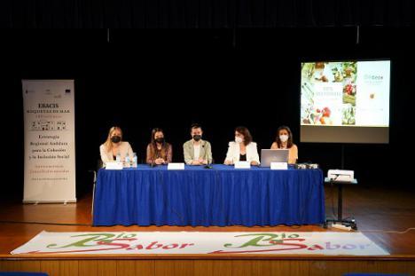 Conferencia sobre la dieta mediterránea en Roquetas en el Día de la Nutrición