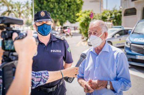La Policía Local de Roquetas ya tiene otros tres vehículos más
