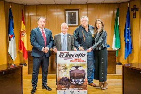 Un millar de moteros en la IX edición de la Ruta Invernal El Desafío de Roquetas