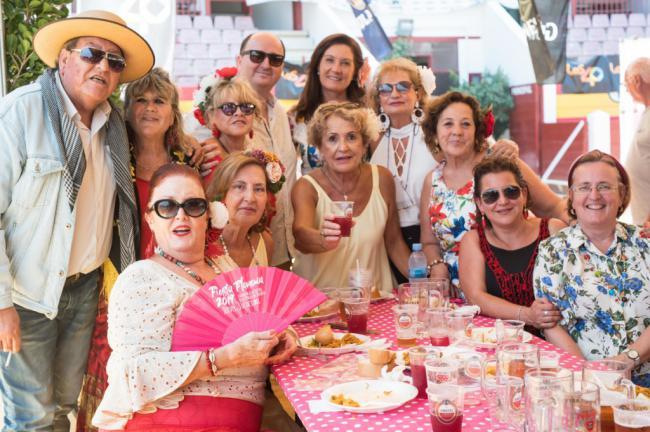 Fiesta Flamenca del Centro de la Mujer de Roquetas previa a las fiestas patronales