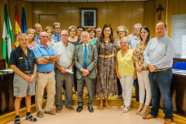 Gabriel Amat pone en valor el papel de los mayores en el Consejo del Mayor