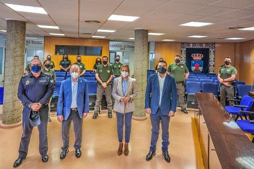 13 nuevos trabajadores para de vigilancia y atención telefónica en el Ayuntamiento de Roquetas