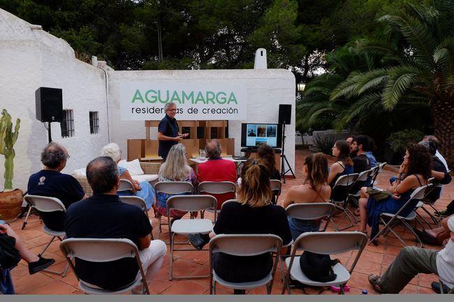 """Aguamarga se convierte en la sede de la primera edición de """"Residencias de Creación"""""""