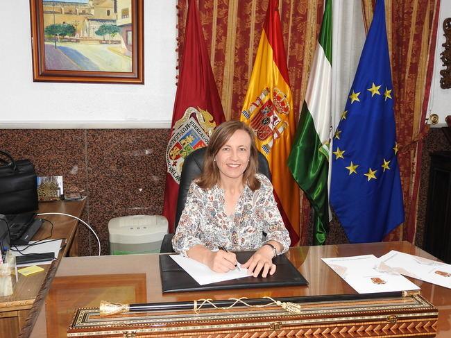 Francisca Lourdes Fernández es la primera alcaldesa de Huércal Overa