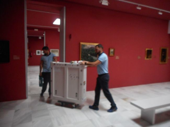 El 'Zuloaga' del Museo Ibáñez viaja a Bilbao
