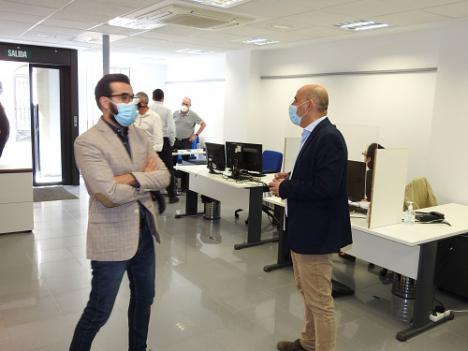 La nueva oficina de Huércal-Overa mejora el servicio tributario en 29 municipios