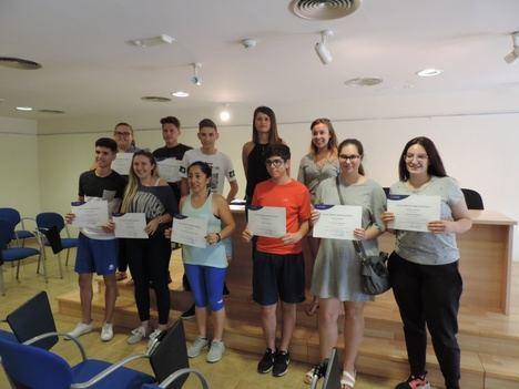 Diputación forma a una treintena de jóvenes veratenses en 'Experiencias Creativas'