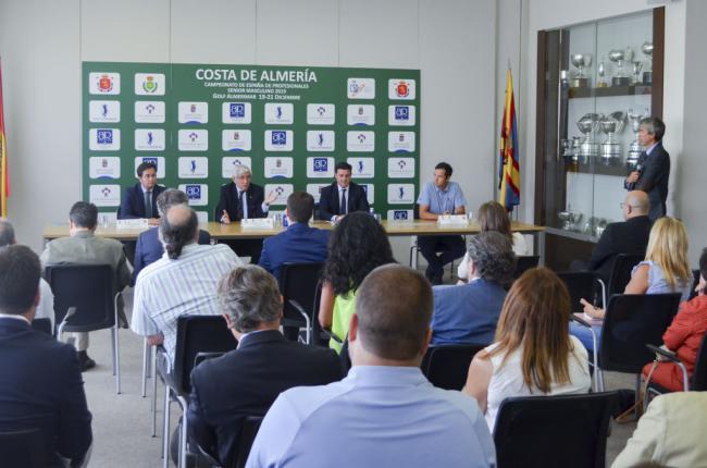 El Campeonato de España Senior de Profesionales Masculino 2019 de Golf será en Almería