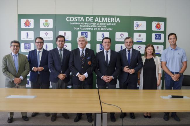 88 aspirantes en el Campeonato Nacional 'Costa de Almería' de Profesionales Senior
