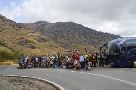 Velefique reúne a casi 200 'riders' de Europa y América en 'Almería Activa'